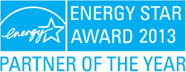 Energy Star Award 2013 - Partner of the year
